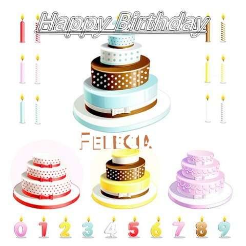 Happy Birthday Wishes for Felecia