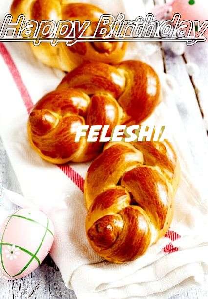 Happy Birthday Wishes for Feleshia