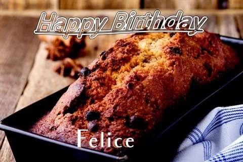 Happy Birthday Wishes for Felice
