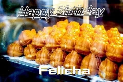 Birthday Wishes with Images of Felicha