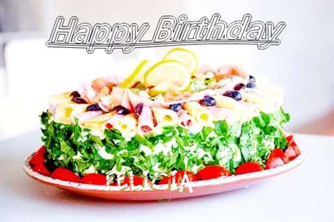Happy Birthday Cake for Felicia