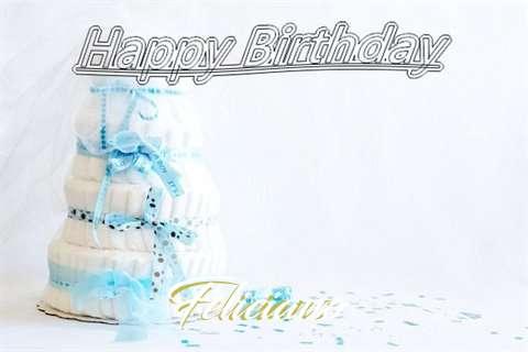 Happy Birthday Feliciano Cake Image