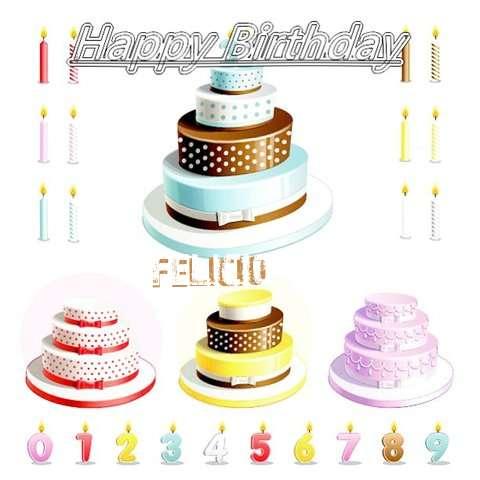Happy Birthday Wishes for Felicio