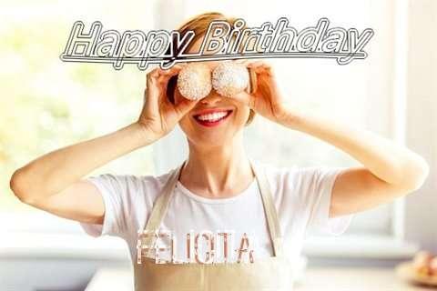 Happy Birthday Wishes for Felicita