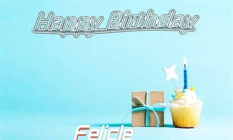 Happy Birthday Cake for Felicle