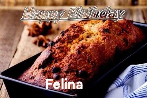 Happy Birthday Wishes for Felina