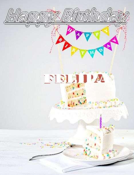 Happy Birthday Felipa Cake Image