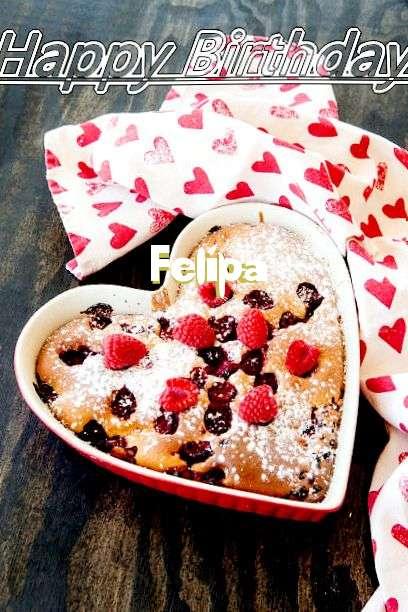 Happy Birthday Cake for Felipa