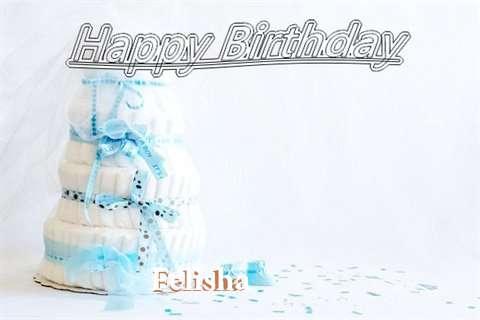 Happy Birthday Felisha Cake Image