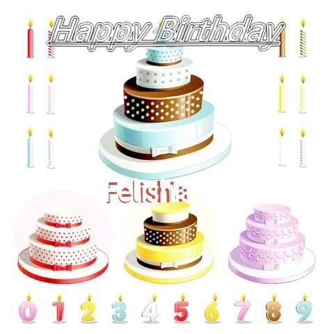 Happy Birthday Wishes for Felishia