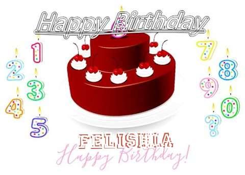 Happy Birthday to You Felishia