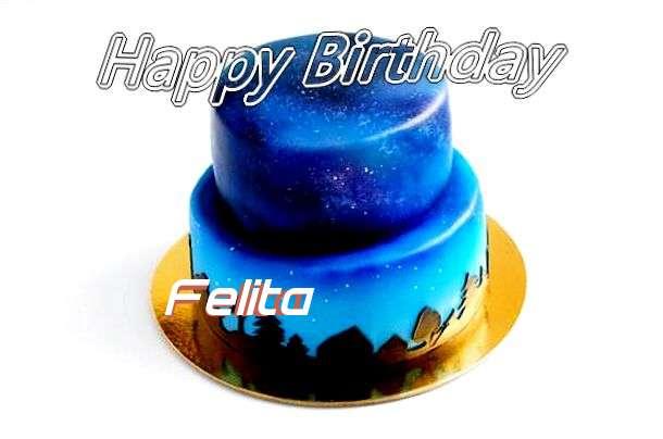 Happy Birthday Cake for Felita