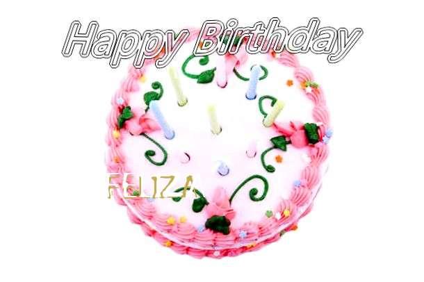 Happy Birthday Cake for Feliza