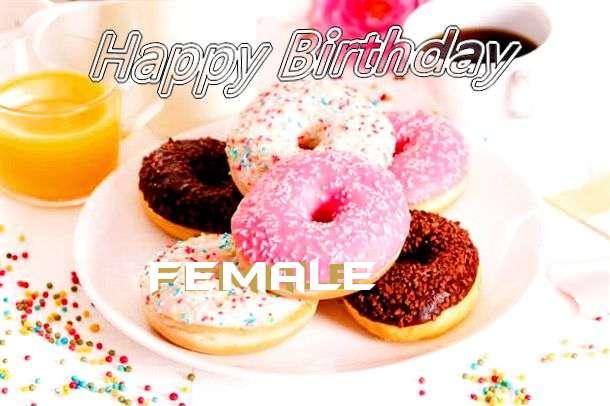 Happy Birthday Cake for Female
