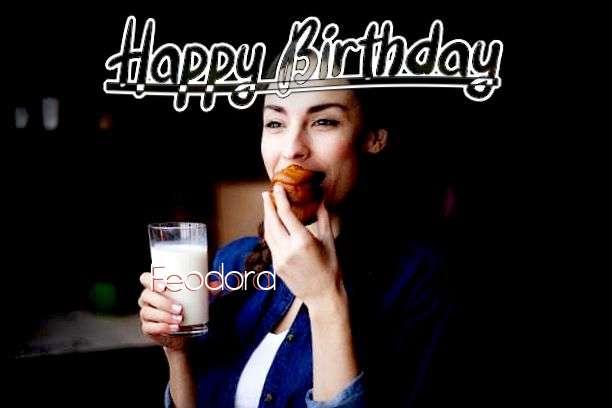 Happy Birthday Cake for Feodora