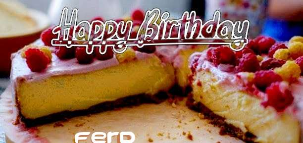 Birthday Images for Ferd