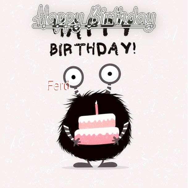 Ferd Birthday Celebration