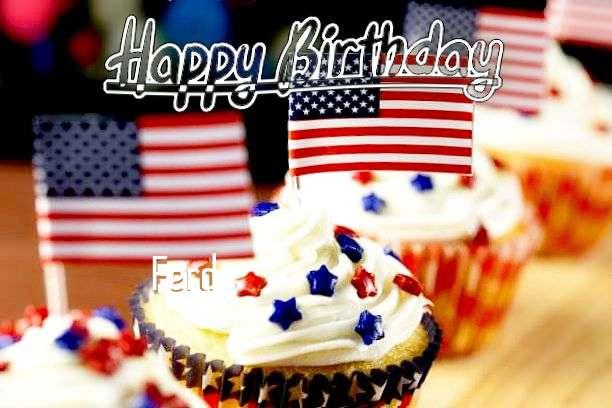 Happy Birthday Wishes for Ferd