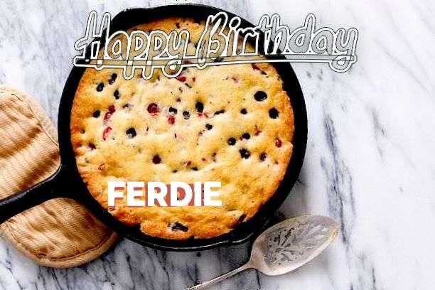Happy Birthday to You Ferdie