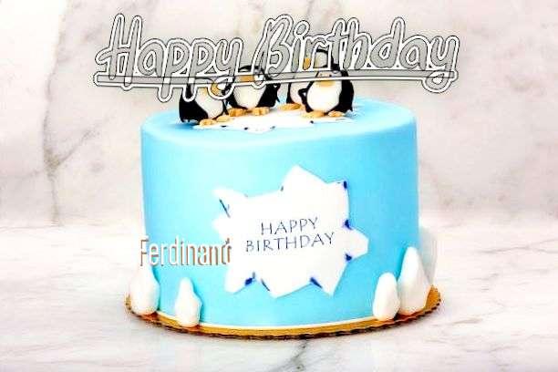 Happy Birthday Ferdinand