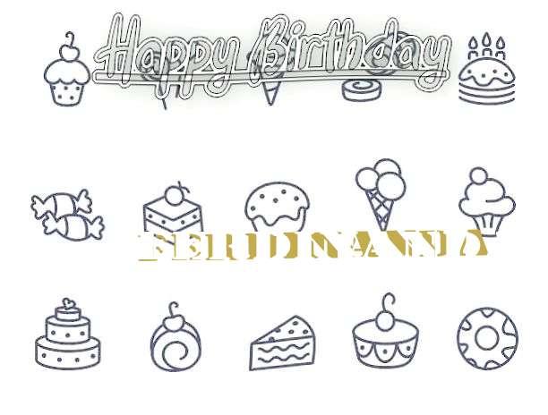 Birthday Wishes with Images of Ferdinanda