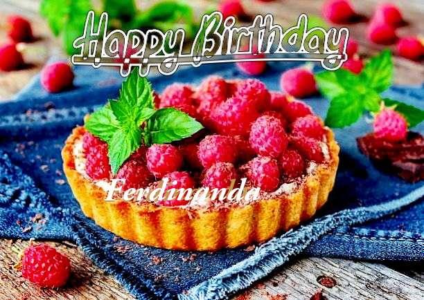 Happy Birthday Ferdinanda Cake Image