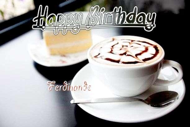 Happy Birthday Ferdinande