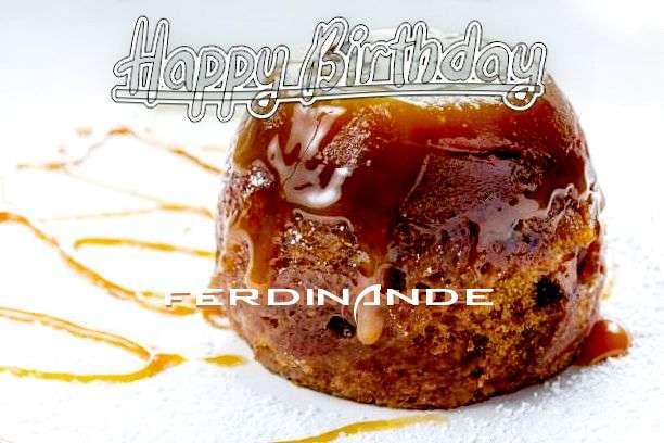 Happy Birthday Wishes for Ferdinande