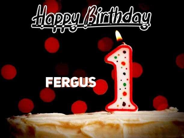 Happy Birthday to You Fergus