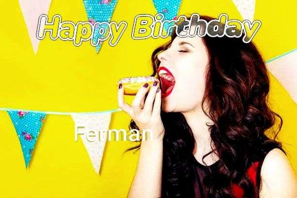 Happy Birthday to You Ferman