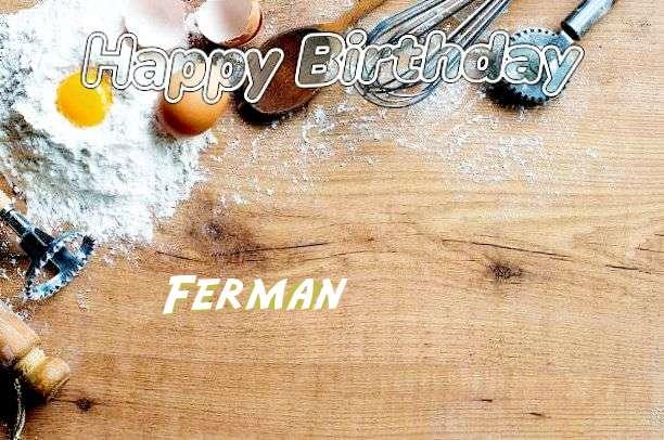 Happy Birthday Cake for Ferman
