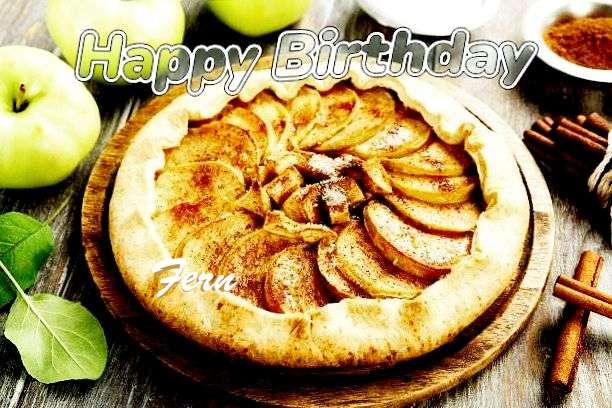 Happy Birthday Cake for Fern