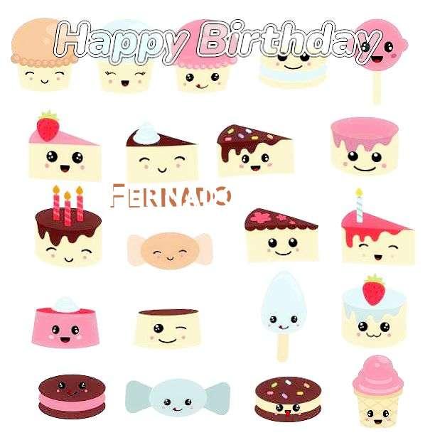 Happy Birthday to You Fernado