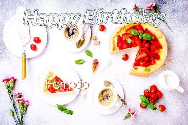 Happy Birthday Cake for Fernado