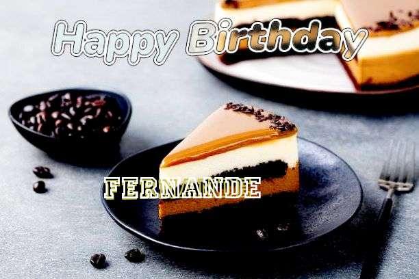 Happy Birthday Fernande