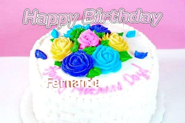 Happy Birthday Wishes for Fernande