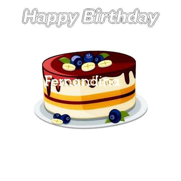 Happy Birthday Wishes for Fernandina