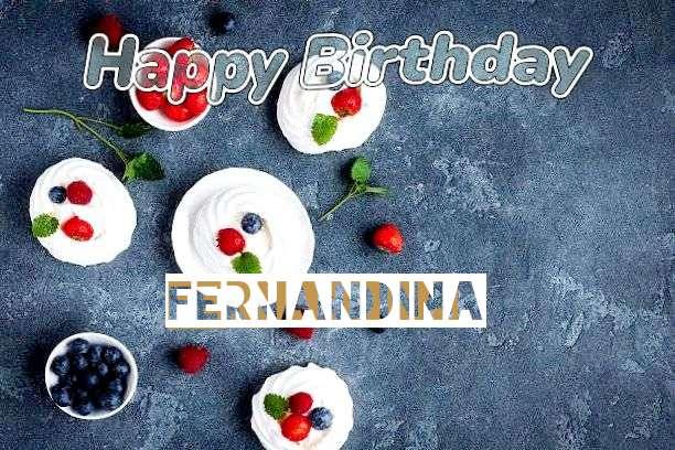Happy Birthday to You Fernandina