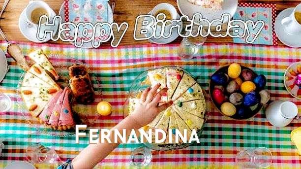 Happy Birthday Cake for Fernandina