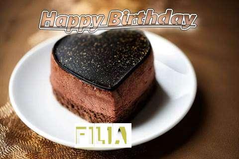 Happy Birthday Cake for Filia