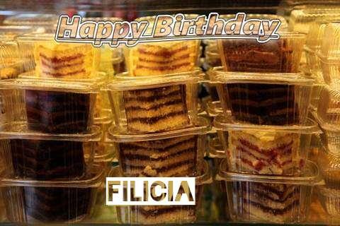 Happy Birthday to You Filicia
