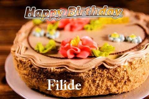 Happy Birthday Filide