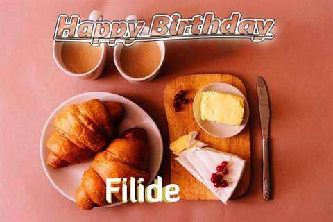 Happy Birthday Wishes for Filide