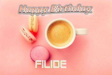 Happy Birthday to You Filide