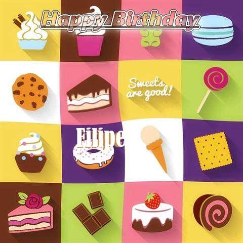 Happy Birthday Wishes for Filipe