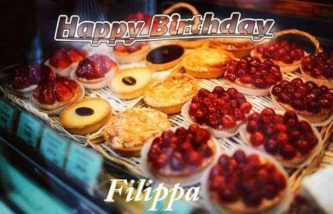 Happy Birthday Cake for Filippa