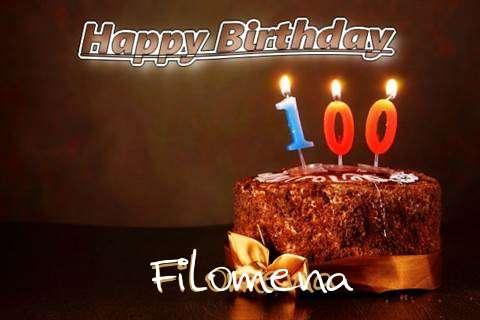 Filomena Birthday Celebration