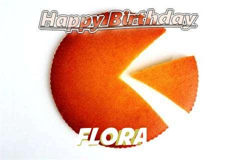 Flora Birthday Celebration