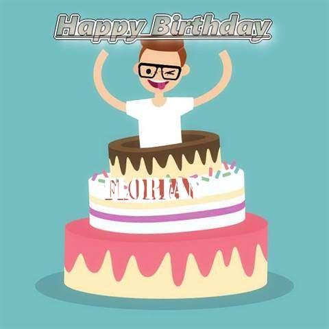 Happy Birthday Florian