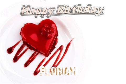 Happy Birthday Wishes for Florian